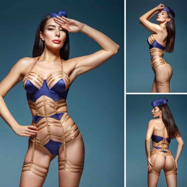 Costume Hotesse de l'air sexy de BAED STORIES