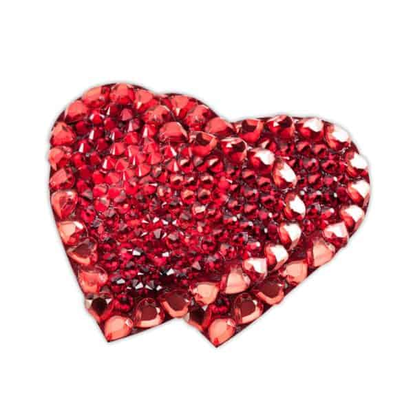 Nippies strass ruby heart red heart by Ruth Melbourne on Brigade Mondaine